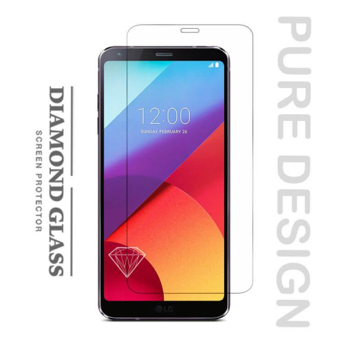 Lg 6 protection d 39 cran en verre tremp diamond glass hd - Ecran verre trempe ...