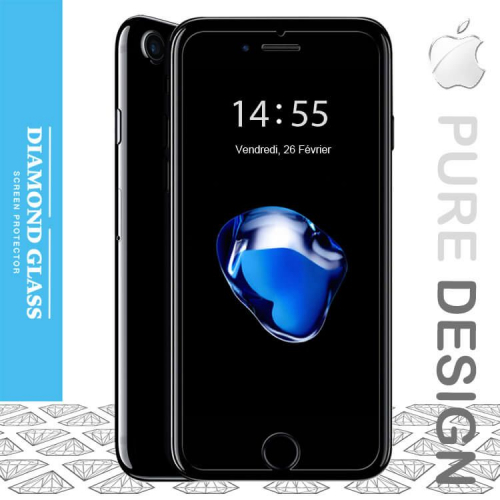 verre tremp iphone 6 plus iphone 6s plus protection diamond hd. Black Bedroom Furniture Sets. Home Design Ideas