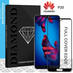 Huawei P20 - Protection écran en verre trempé 3D Full Cover