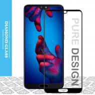 Huawei P20 - Protection écran intégrale en verre trempé 3D Full Cover