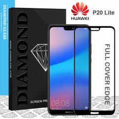 Huawei P20 Lite - Protection écran en verre trempé 3D Full Cover