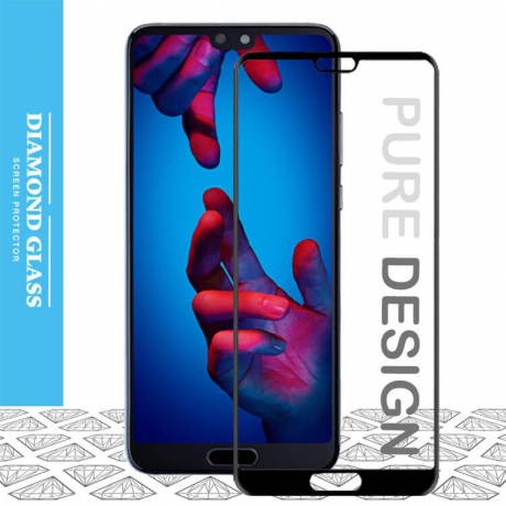 Huawei P20 Pro- Protection écran en verre trempé 3D Full Cover