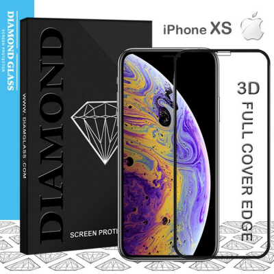 iPhone XS - Protection écran en verre trempé 3D Full Cover