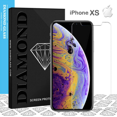 Apple iPhone XS - Protection écran en verre trempé  Open Edge Design 2.5D+  Full Adhesive