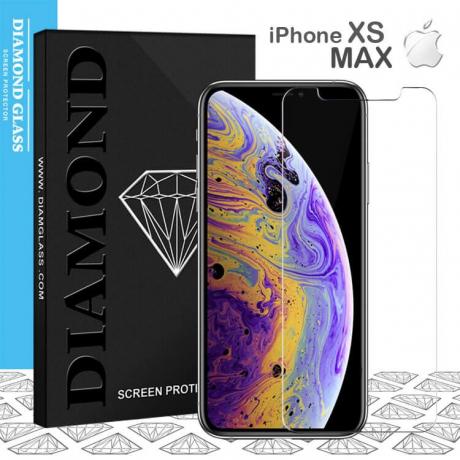 Apple iPhone XS MAX - Protection écran en verre trempé  Open Edge Design 2.5D+  Full Adhesive