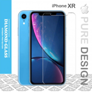 Apple iPhone XR - Protège écran en verre trempé Open Edge Design 2.5D+ Full Adhesive - Tempered Glass Screen Protector