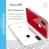 Coque Protection Silicone transparente Apple iPhone XS