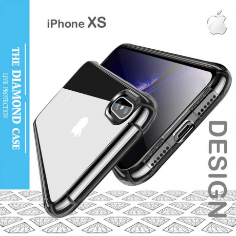 Coque Silicone transparente iPhone XS