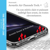 Crystal clear transparent silicone case Apple iPhone XS MAX