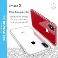 Coque Silicone transparente Apple iPhone X
