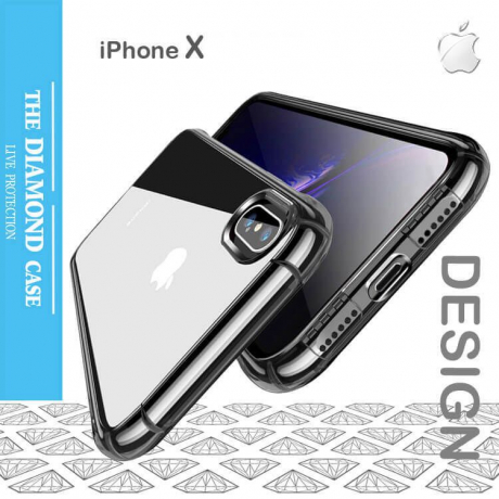 Coque Silicone iPhone X Ultra Transparente Apple