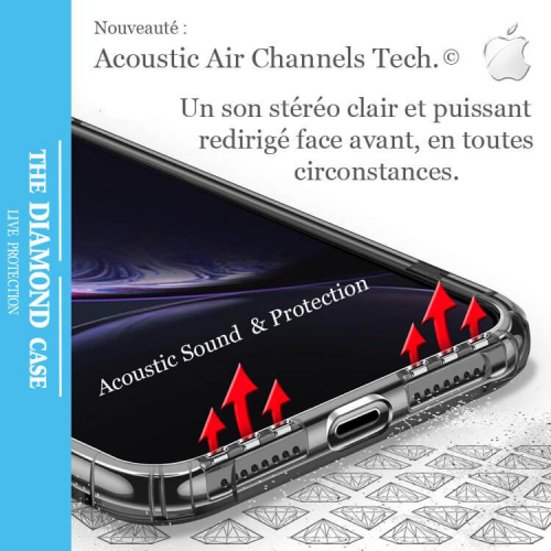 coque silicone 3d iphone xr