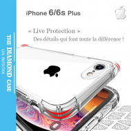La meilleure Coque Silicone transparente Apple iPhone 6 - 6s Plus