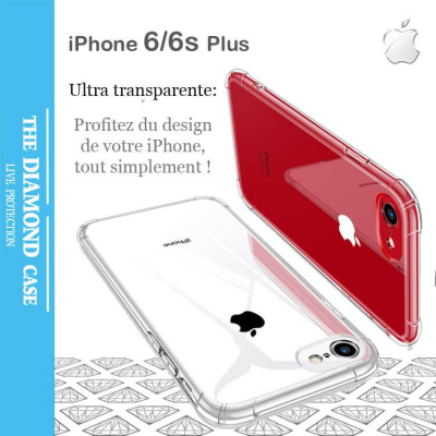 Coque Silicone transparente Apple iPhone 6 - 6s Plus