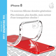 Coque Silicone transparente Apple iPhone 8