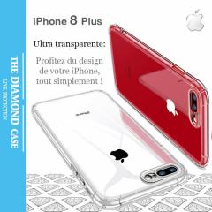 Coque Silicone transparente Apple iPhone 8 Plus