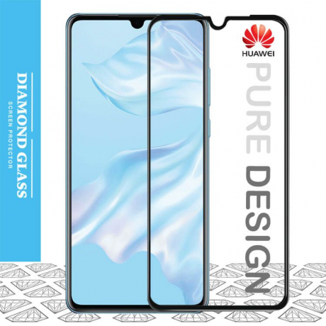 Huawei P30 - Protection écran en verre trempé 3D Full Cover