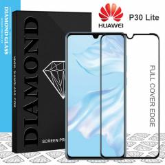 Huawei P30 Lite - Protection écran en verre trempé 3D Full Cover
