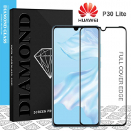 Huawei P30 Lite - Protection écran en verre trempé 3D Full Cover