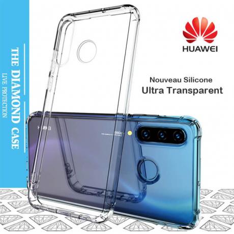Coque Silicone transparente Huawei P30 LITE