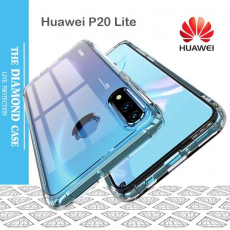 Coque Silicone transparente Huawei P20 LITE