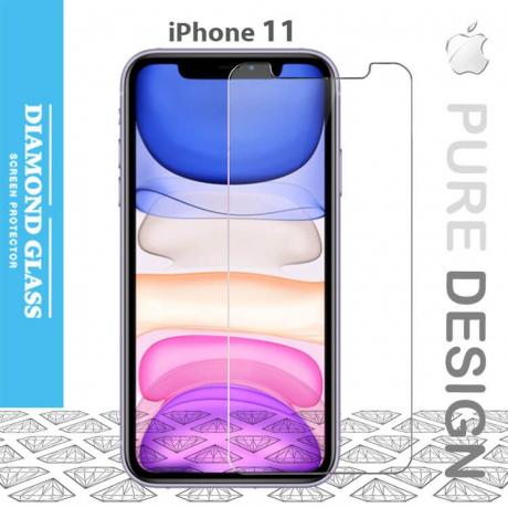 Protection écran en verre trempé pour iPhone 11- Apple - Tempered glass screen protector