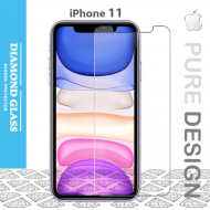 Protege écran en verre trempé pour iPhone 11- Apple- Open Edge Design 2.5D+ Full Adhesive