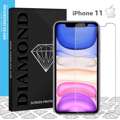 Protection écran en verre trempé pour iPhone 11- Apple - Tempered glass screen protector