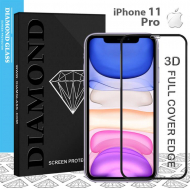 Protection écran verre trempé iPhone 11 Pro - 3D Full cover- Full Adhesive - Tempered glass screen protector