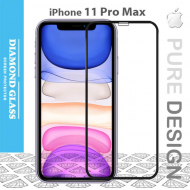 Protège écran verre trempé iPhone 11 Pro Max - 3D Full cover- Full Adhesive - Tempered glass screen protector