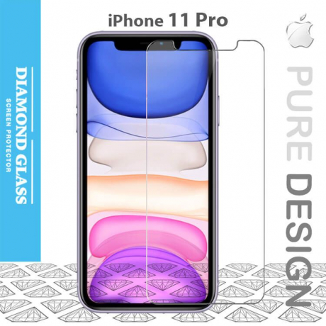Protection verre trempé iPhone 11 Pro Open Edge Design 2.5D+ Full Adhesive -Tempered glass screen protector