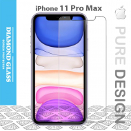 Protection verre trempé iPhone 11 Pro Max 2.5D Full - Adhesive Tempered glass screen protector