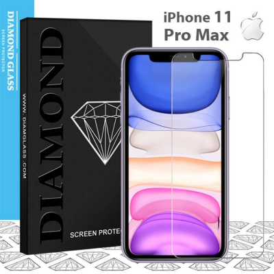 Protection écran en verre trempé iPhone 11 Pro Max 2.5D Full - Adhesive Tempered glass screen protector
