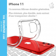 Coque Ultra Transparente Silicone iPhone 11 Apple