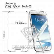 Protection d'écran en verre trempé Diamond Glass HD - Samsung Galaxy Note 2