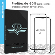 Duo Pack P20 Lite- Protection écran en verre trempé 3D Full Cover