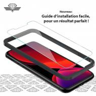 Kit installation facile vitre protège écran iPhone XS - Film de protection antichoc