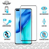 Huawei P40 - Protège écran en verre trempé 3D Full Cover