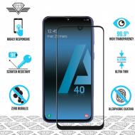 Samsung A40 - Protection écran en verre trempé