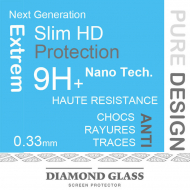Samsung A50 - Protection écran en verre trempé