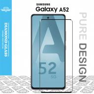 Samsung A52 - Protection écran en verre trempé