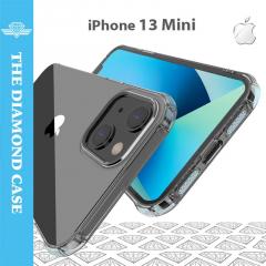Coque Silicone iPhone 13 Mini - Antichoc - Transparente - DIAMOND