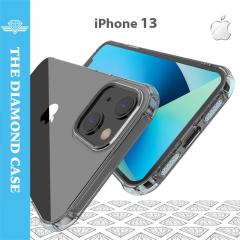 Coque Silicone iPhone 13 - Antichoc - Transparente - DIAMOND