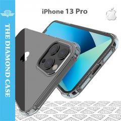 Coque Silicone iPhone 13 Pro - Antichoc - Transparente - DIAMOND