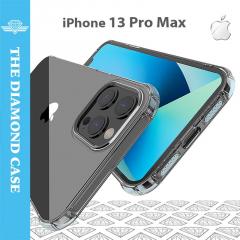 Coque Silicone iPhone 13 Pro Max - Antichoc - Transparente - DIAMOND
