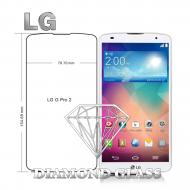 Protection d'écran en verre trempé Diamond Glass HD - LG G Pro 2