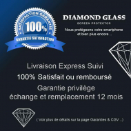 Protection d'écran en verre trempé Diamond Glass HD - LG G3