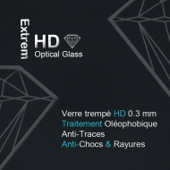 Protection d'écran en verre trempé blindé Diamond Glass HD