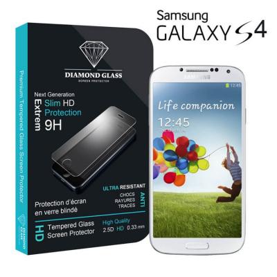 Film protection d'écran en verre trempé Diamond Glass HD - Samsung Galaxy S4