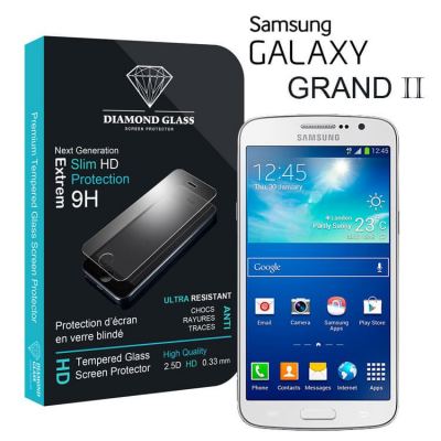 Film protection d'écran en verre trempé - Samsung Galaxy Grand 2